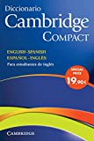 Diccionario Bilingue Cambridge Spanish-English Paperback with CD-ROM...