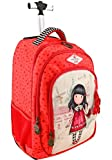 Gorjuss - Mochila Escolar Trolley Gorjuss - Time To Fly - -5% En Libros