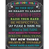 Teacher Created Resources Chalkboard Brights Classroom Rules Chart (7565)...