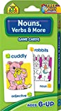 SCHOOL ZONE - Nouns, Verbs & More Game Cards, Ages 6 and Up, Grammar, Parts...