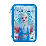 FROZEN II Dsiney Disney-Frozen 2-Estuche Triple, Color Set (Cife 41906)