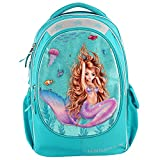 Depesche Mochila Escolar 10395 Fantasy Model Mermaid, Turquesa, Aprox. 23 x...